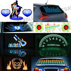 Car Sticker Sound Activated Equalizer Music Sound Rhythm LED Flash Light Lamp S