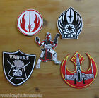 1 - Iron on Patch - Star Wars - Jedi/Rebel Force/Clone Trooper - Applique/Cards