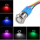 16mm 19mm 12V Car LED Light ON OFF Metal Push Button Toggle Switch Plug Sales