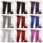 PAIR THERMAL INSULATING LIGHT BLACKOUT PENCIL PLEAT TAPE TOP CURTAINS