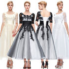 New Stock Formal Prom Wedding Evening Bridesmaid Dress Party Cocktail Ball Gowns