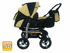 Baby Pram Stroller Pushchair + Car seat Carrycot Buggy Travel system <br/> 10 % OFF LIMITED TIME REDUCTION!