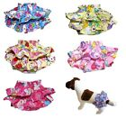 Dog Puppy Pet Diaper Pants Skirt Female Girl Ruche for SMALL Breeds
