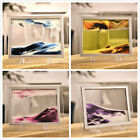 Moving Sand Glass Art Picture Photo Frame Desk Decor Figures Birthday Xmas Gift