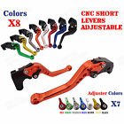 CNC Short Brake Clutch Levers for Buell M2 Cyclone 97-01 02 S1 Lightning 97-98