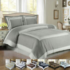 LUXURIOUS Hotel 100% Egyptian Cotton Duvet Cover Sets - 6 Styles / 3 Sizes image
