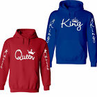 Valentine's Day couple matching King and Queen Sweatshirt Jacket Cupid hoodie