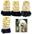 CUTE Dog Puppy Cat Dress Skirt Clothes Apparel Tank For SMALL Pet XXS, XS, S, M
