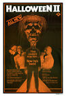 HALLOWEEN II Movie Poster RARE TV Ad Horror
