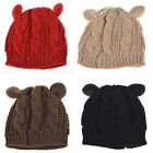 Stunning Fashion Lady Girl Winter Warm Knitting Wool Cat Ear Beanie Ski Hat Cap