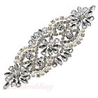 Sparkling Rhinestone Applique Bridal Accessories For Wedding Evening Party Dress