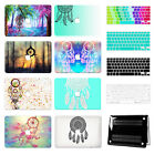 "Dream Catcher Hard Laptop Paint Cases For Macbook Air 11 13""Pro 15""Retina 12""+KB"