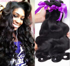 3 bundle/150g Malaysian Body Wave Virgin Extension Hair 100%Unprocessed Weave 6A