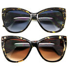 Cat Eye Anoushka Big Large Oversized Women Sunglasses Retro Thick Frame