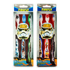 Official Star Wars Triple Pack Kids Toothbrushes Suction Cup Stand Licensed $11.6 AUD