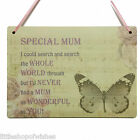 Mum Plaque sign for her shabby chic vintage retro present gift I could search