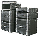 ABS Rack Cases 1-8U [flight case] by Pulse equipment racks for DJ sound gear etc