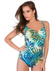 Miraclesuit Ready to Pounce Sanibel Leaf Print Underwired Swimsuit 364663