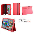 US SHIP Slim-Fit Magnetic Folio Stand Case Cover for Microsoft Surface Pro 2/3/4