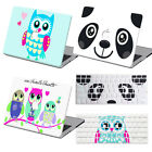 "Owl/Panda Hard Paint Case+Keyboard Cover For Macbook Pro Air 11""13""15""Retina 12"""