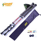 1pc Carbon Alpenstock Lightweight Outdoor Trekking Hiking Walk Sticks Poles U17