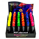 UV Lipstick By Paint Glow Make Up Neon Bright Fluorescent Electric Clubbing