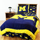Michigan Wolverines Comforter and Sham Twin Full Queen Size
