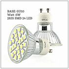 Latest 5W GU10 24 LED BULB LAMP 2835 SMD WARM BRIGHT LIGHT SPOT BULBS UK Seller