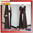 Mens Star Wars Return of the Jedi Hooded Robe Cape Fancy Dress Costume Large