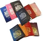 PASSPORT COVER UK and European Passport Holder Protector Cover Wallet PU Leather