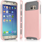 For Samsung Galaxy S7 Edge/S7 Hybrid Rugged Shockproof Rubber Case Armor Cover