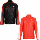 NEW OFFICIAL PUMA MENS FERRARI SF FORMULA 1 LIGHTWEIGHT FASHION RED BLACK JACKET