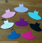 8 - Dress up Die Cuts - Dress - fit Dolls - Kids/Baby Girl - Scrapbooking/Cards