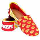 Kansas City Chiefs 2016 Womens Canvas Stripe Shoes