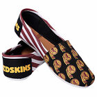 Washington Redskins 2016 Womens Canvas Stripe Shoes