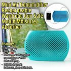 Mini Air Dehumidifier Rechargeable Wardrobe Gun Safe Mould Moisture Absorber