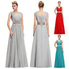 Stock Evening Formal Prom Gown Party Cocktail Bridesmaid Ball Long Dress AU 6-20