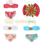 Sexy Ladies Crystal Bikini Set Padded Bra Bathing Swimwear Bandeau Top + Bottom