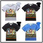 Five Nights At Freddy's Part Of The Show Kid's Short Sleeve Shirt