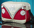 VW Volkswagen Collection GREEN RED BROWN Shoulder Bag Official VW Licensed Prod