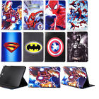 Super Hero Cartoon Leather Smart Cover Case for Samsung Galaxy Tab A T350 T550