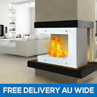Indoor Designer Bio Ethanol Home Fireplace Decoration W/ Tempered Safety Glass
