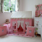 Children's Girls Win Green Gingerbread Cottage Playhouse Play Tent & Accessories