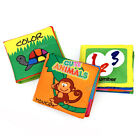Infant Baby Kids Soft Cloth Book Intelligence Development Cognize Eductional Toy