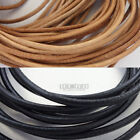 Round Genuine Leather Cord for DIY Jewelry Necklace / Bracelet Making String