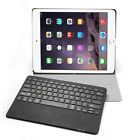 Seenda Bluetooth Tastatur für iPad Pro Leder Schutz Hülle Keyboard Case Business