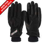 RAYVEN ARGON WATERPROOF LEATHER TEXTILE MOTORCYCLE MOTORBIKE  GLOVES