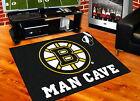 Boston Bruins Man Cave Area Rug Choose from 4 Sizes