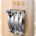 Durable Stainless Steel Toothbrush Razor Holder  Bathroom Accessories Organizer