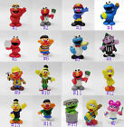 Sesame Street Cookie Monster Super Grover ELMO BIG BIRD OSCAR Elmo Bert figure